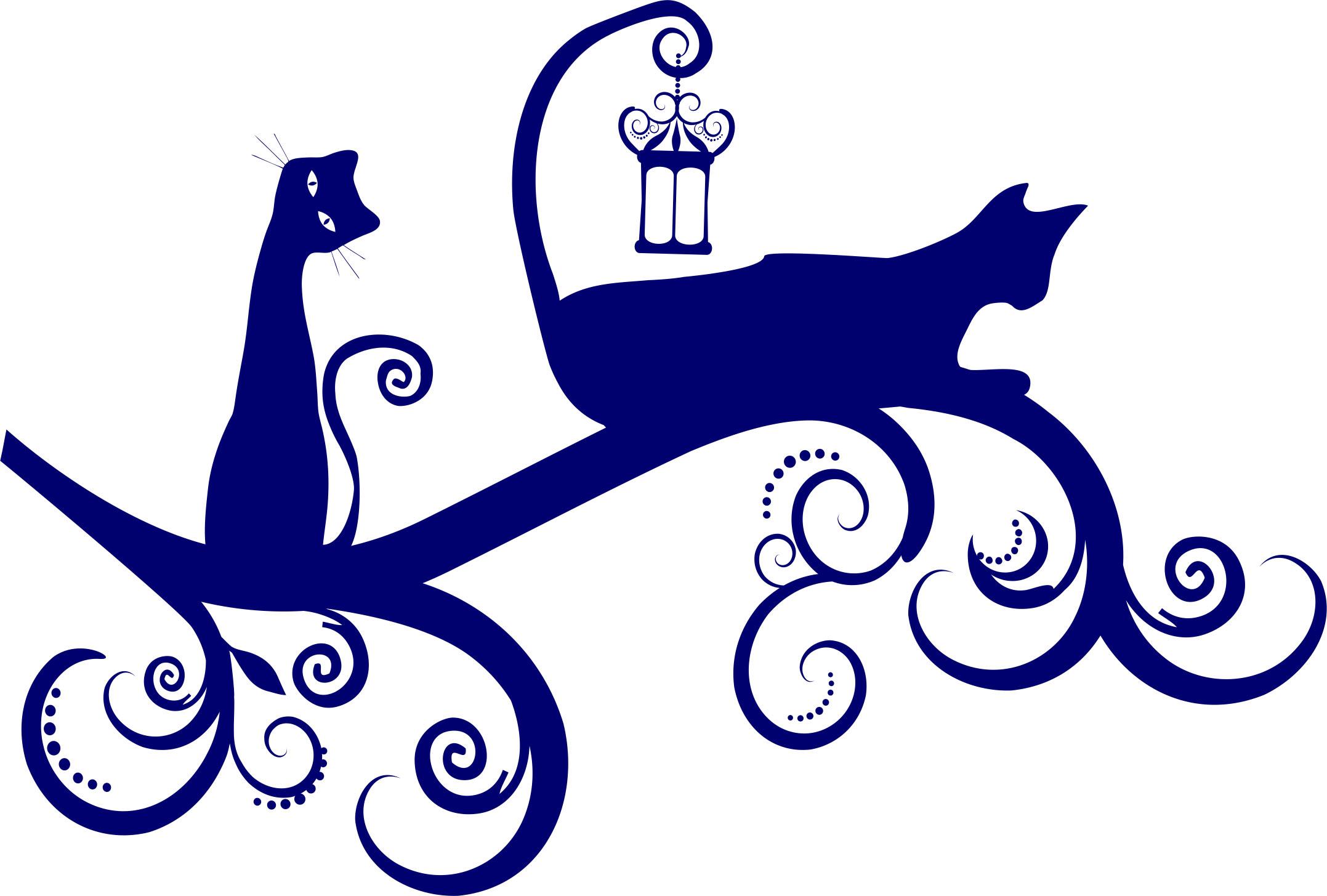 Трафареты для декора кошки своими руками шаблоны