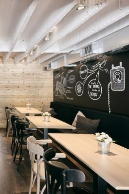 Dekoratív és trendi ábrák a falon