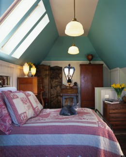 Tökéletes helyszín színes vendégszoba kialakítására