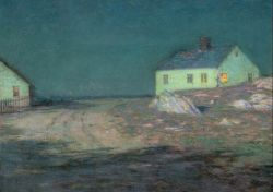Birge Harrison - The Harbor Light