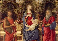 Botticelli - Madonna with saints