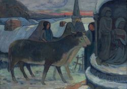 Gauguin - Christmas Night