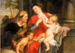 Rubens - The virgin and child