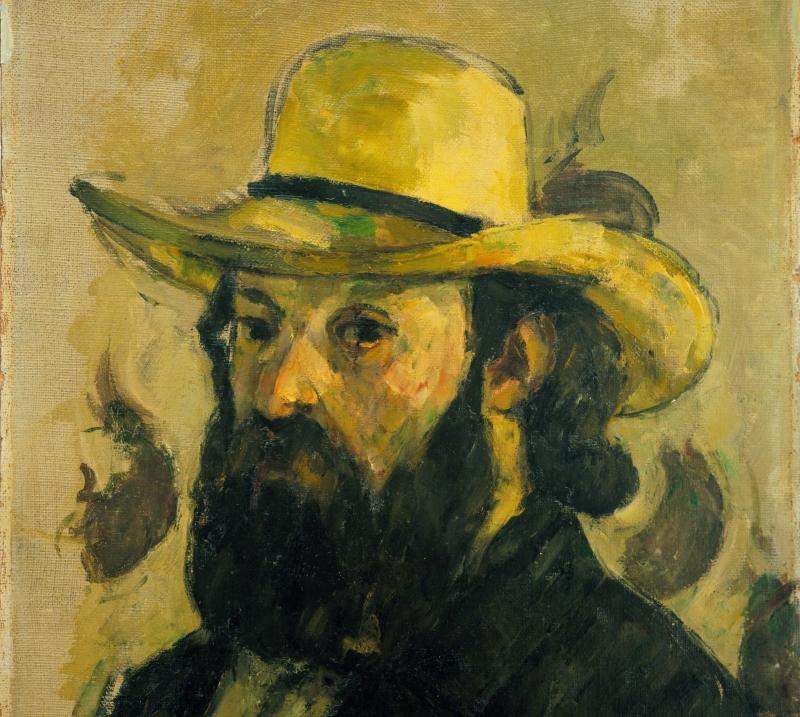 Cézanne: Önarckép