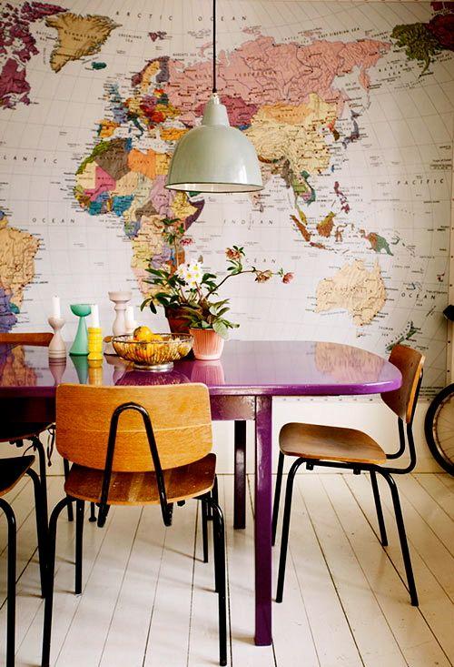 konyha térkép