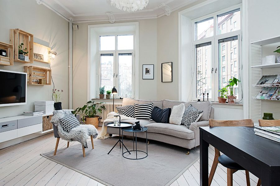 Small-living-room-decorating-idea-in-Scandinavian-style