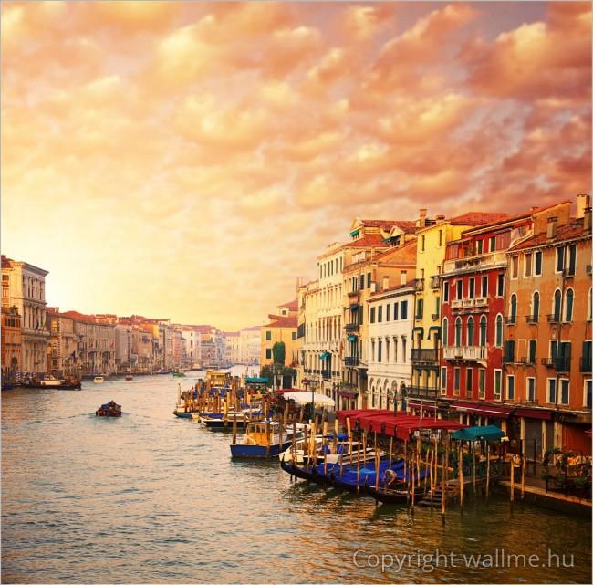 Velence, Grand Canal naplementés dekorációs kép
