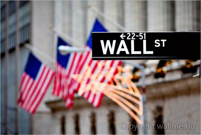 Wall Street utca kép