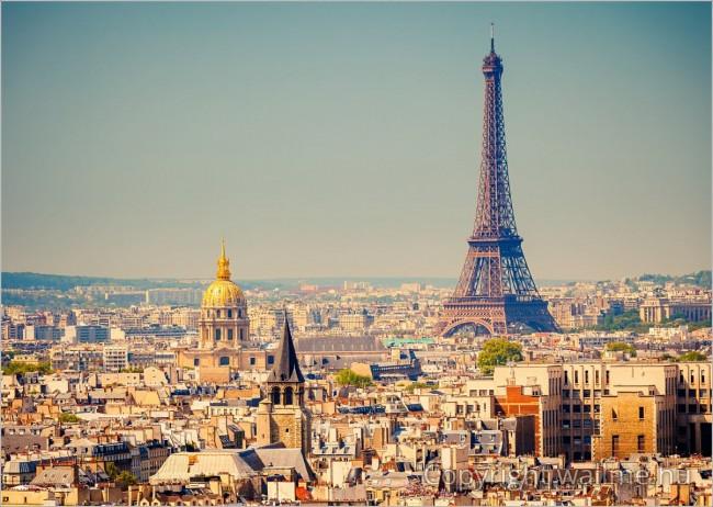 Párizsi látkép, Eiffel torony