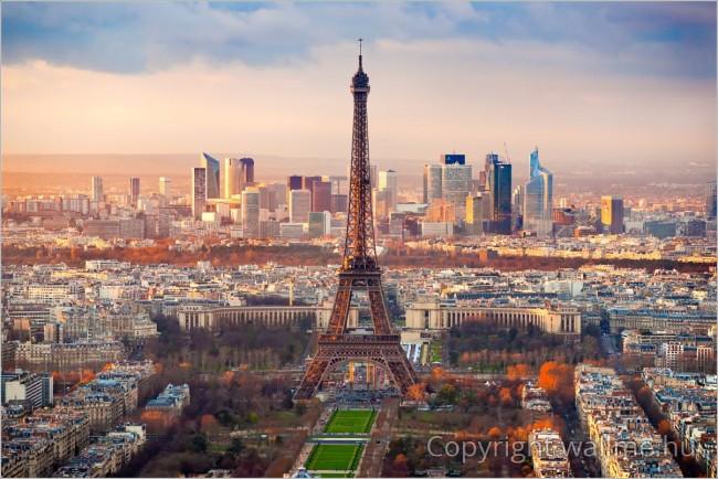 Őszi párizsi látkép