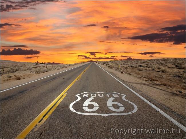 66-os út fotó