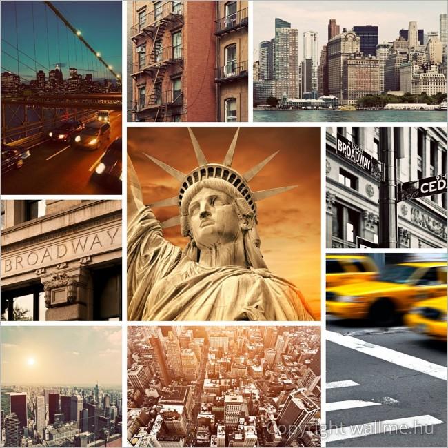 New York-i fotó összeállítás