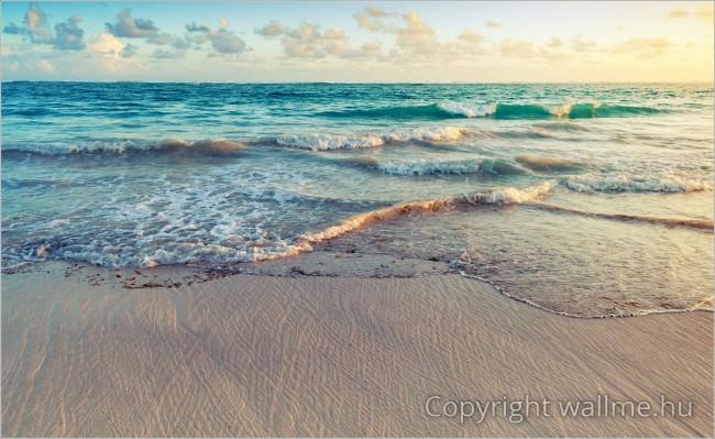 Retró hangulatú minimalista tengerpari fotó