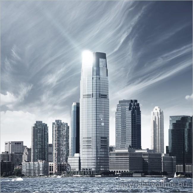 A jövő városa modern fotó