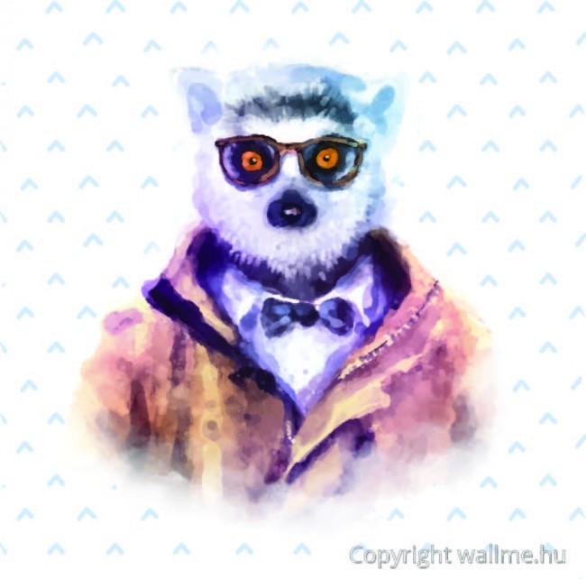 hipszter_lemur_portre