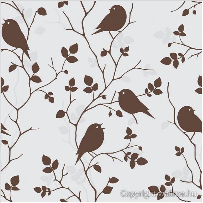 Faágak és madarak tapéta