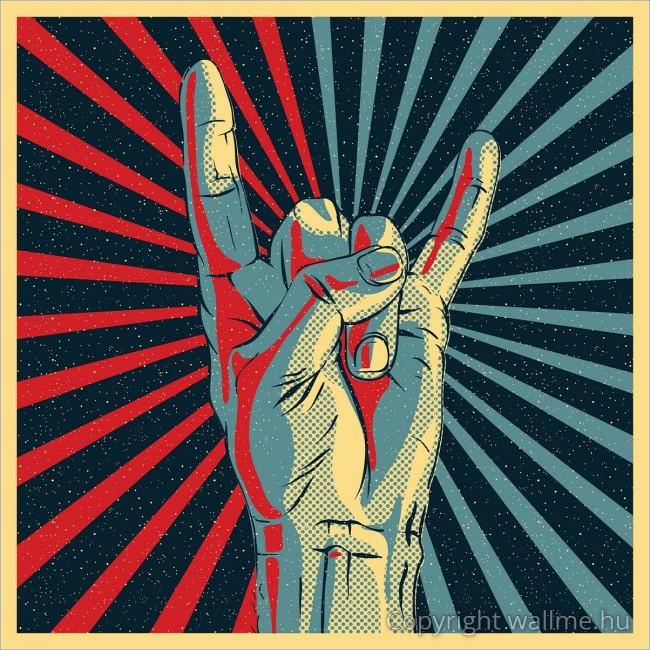 Kézjel- rock