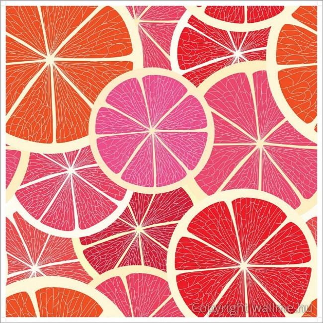 Narancs szeletek tapéta