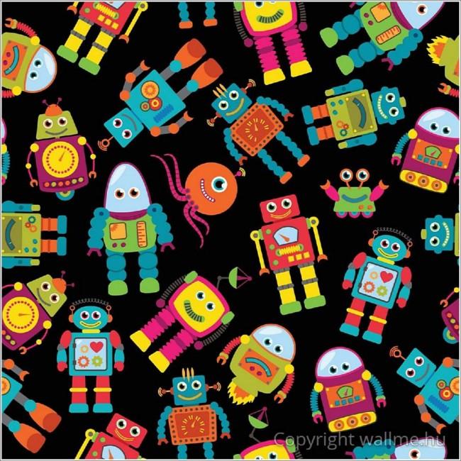 Robotok tapéta III.