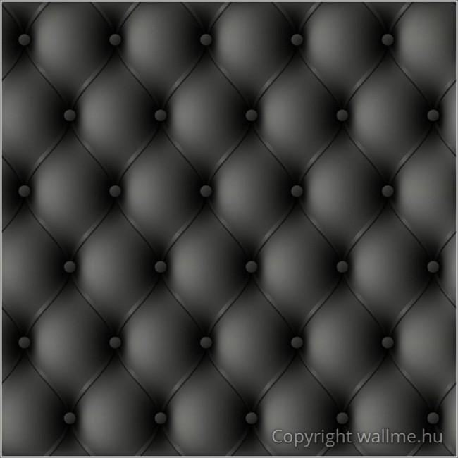 Steppelt bőr mintás tapéta-fekete