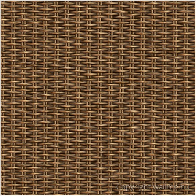 Szőtt kosár tapéta