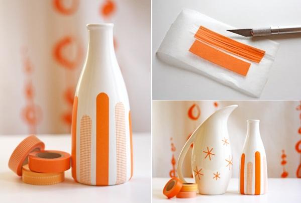 diy-masking-tape-vase
