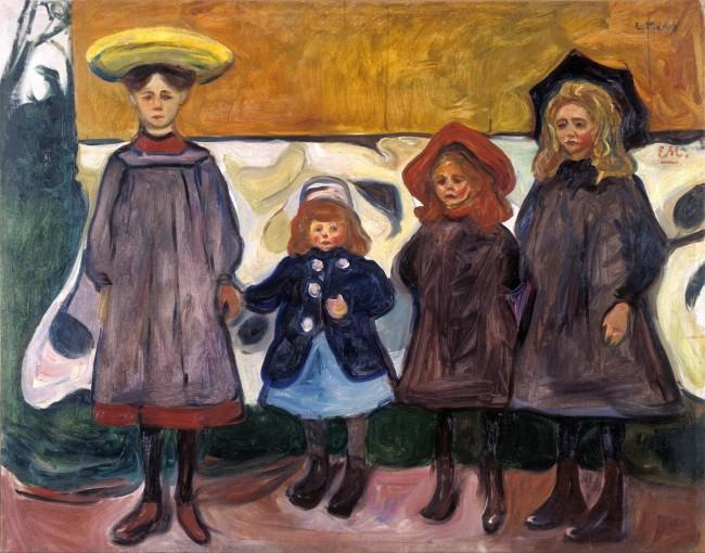 Munch - Four girls