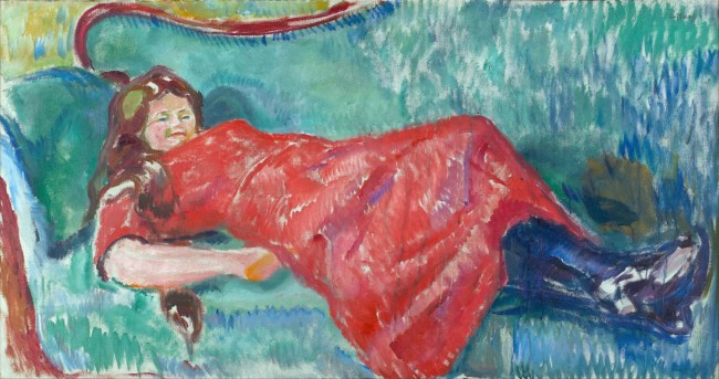 Munch - On the Sofa