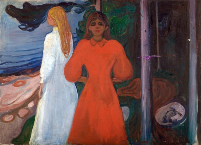 Munch - Red and White