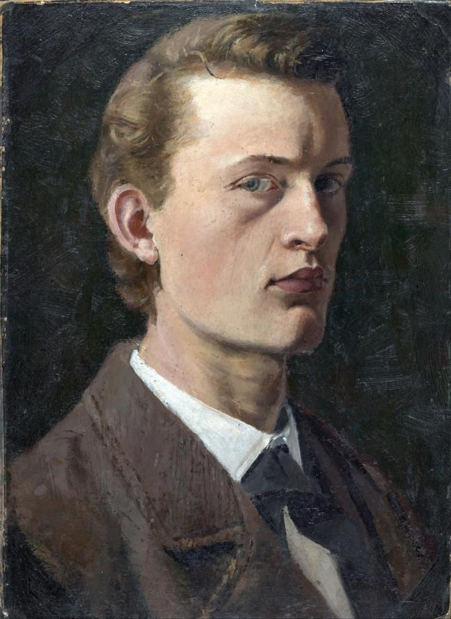 Munch - Self-Portrait