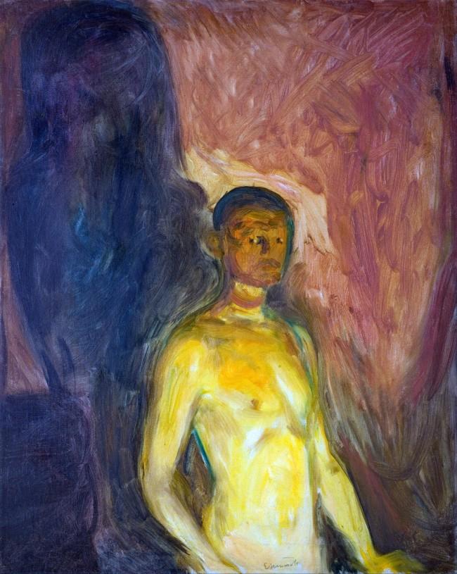 Munch - Self-Portrait in hell