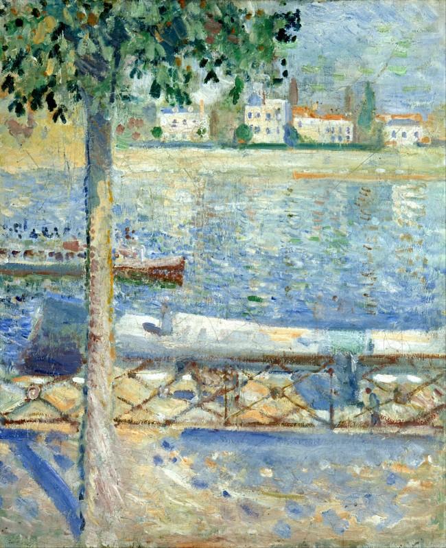 Munch - The Seine at St Cloud