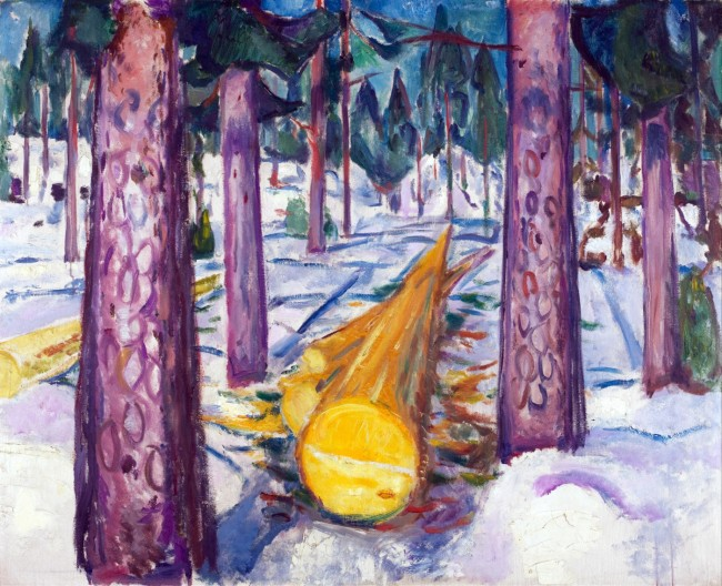 Munch - The yellow log